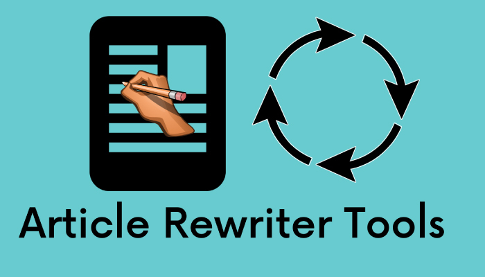 Article Rewriting Software