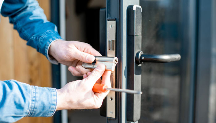 Rekeying or Changing the Lock