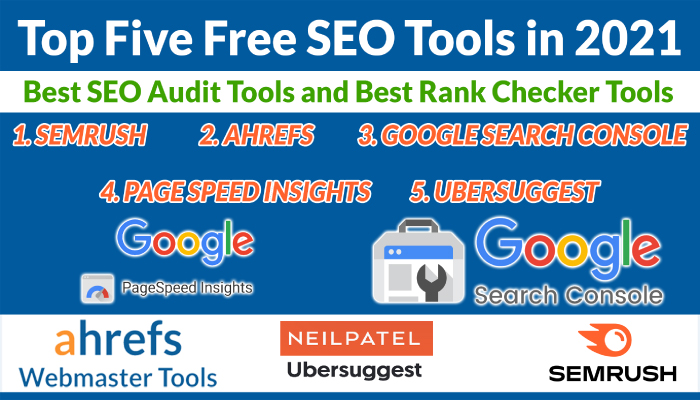 Top Five Free SEO Tools in 2021