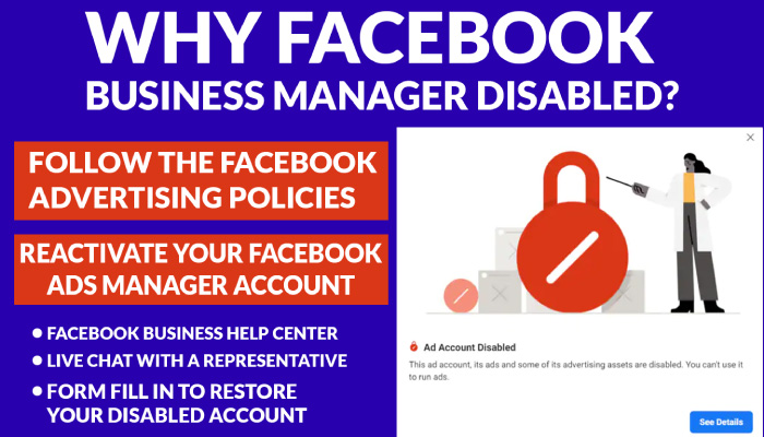 Why Facebook Business Manager Disabled