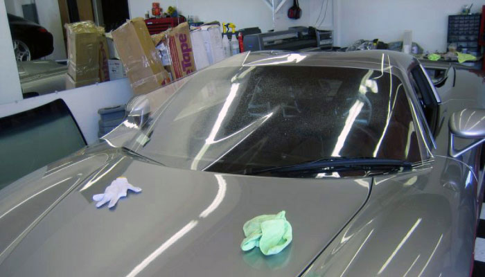 windshield protection films