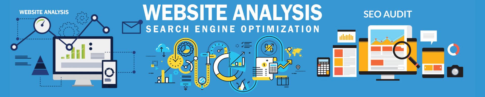Webiste analysis