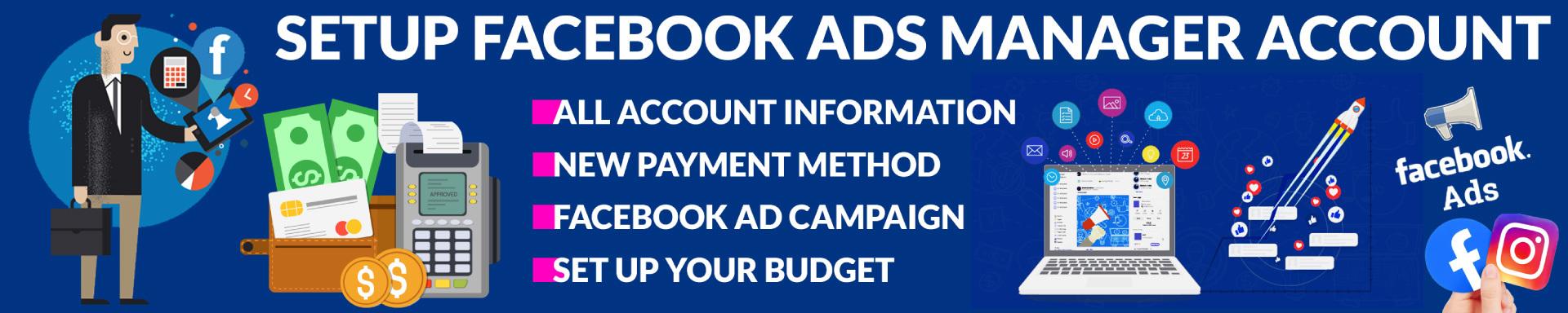 Banner Setup Facebook Ads Manager Account