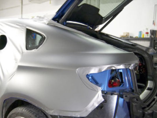 Partial Wraps for Sports Cars