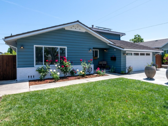 Renovate House in Low Budget Campbell CA