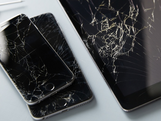 iPhone Screen Cracked in New York