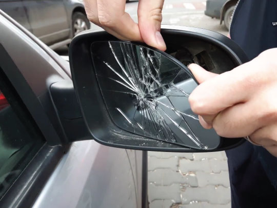 Cost of Replacing Side Mirror
