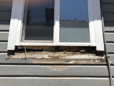 Replace Rotted Window Frame