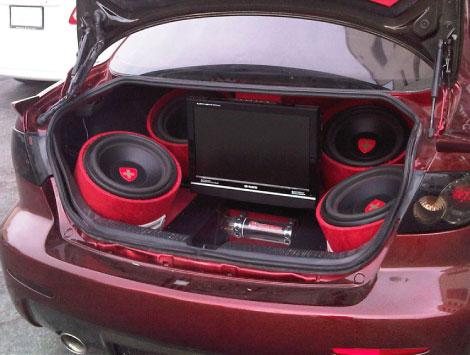 Car Sound Installation