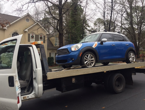 Cost to Tow A Car