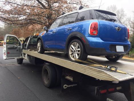 Emergency Tow Car in Atlanta GA