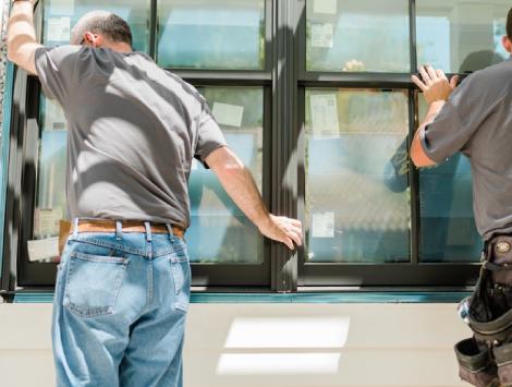 Replacing Glass in Door in Bensalem
