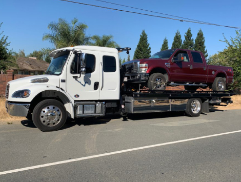Flatbed Car Towing Service