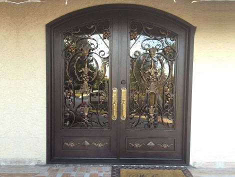 Rolling Iron Entry Doors in Brooklyn NY