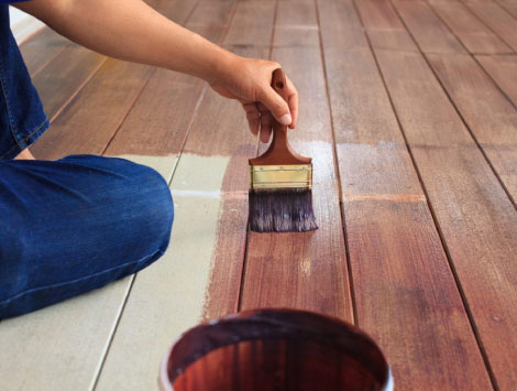 Deck Painting in Aurora CO