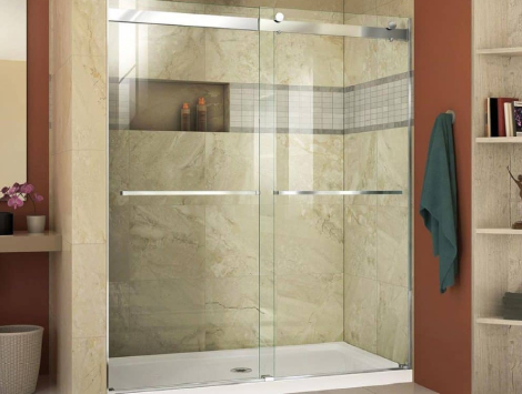 Replace Sliding Shower Door in Miami Beach, FL