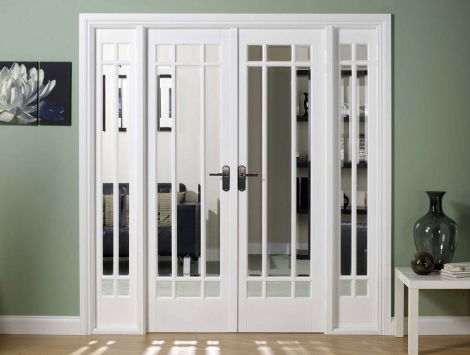 48-inch Interior French Doors