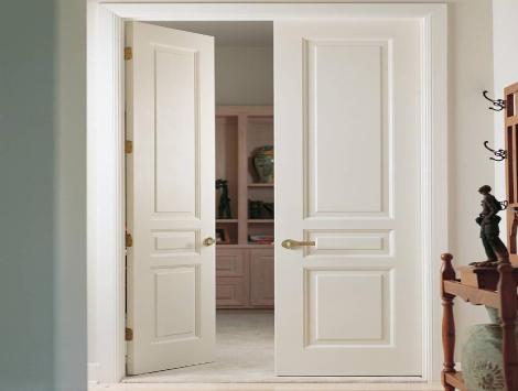 Narrow Interior French doors