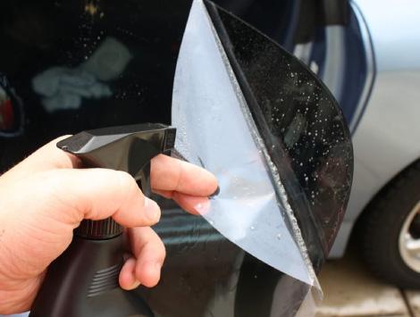 Installing Window Tint in Mesa, AZ