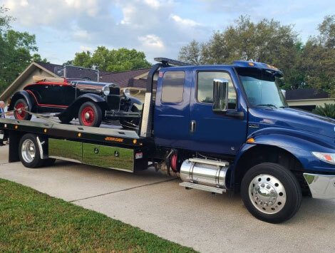 Towing a Vehicle in Smyrna, GA