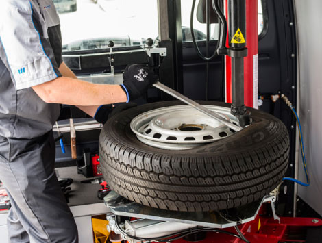 Mobile Tire Replacement Service in Kennesaw, GA
