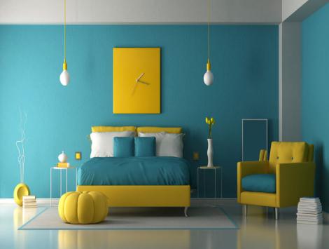 Bedroom Color in Woodstock, GA