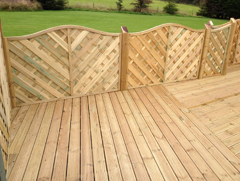 Decking Fence in Reunion