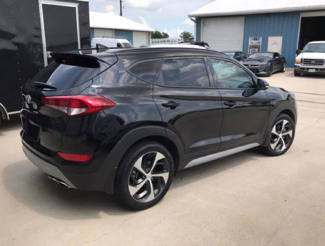 Features of Hyundai Tucson Window Tint in San Antonio TX