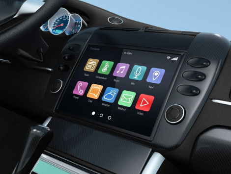 Touch Screen Radio with Backup Camera Installation