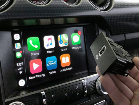Install Carplay in Old Car in Temple Terrence FL