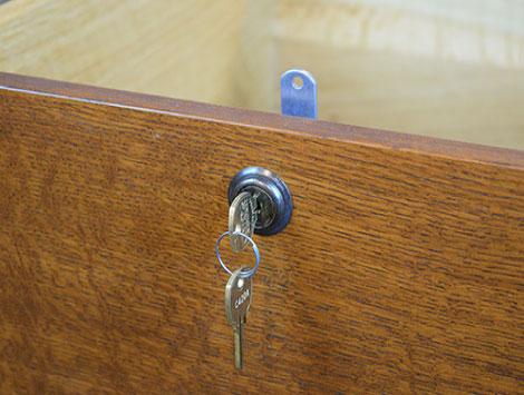 Wooden Desk Drawer Locks in Coral Gables, FL