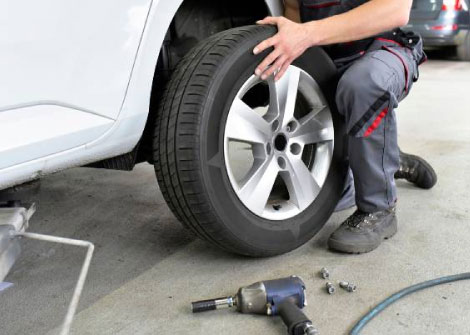 Flat Tire Assistance Service in College Park, GA