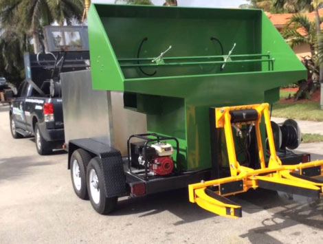 Dumpster Cleaning Truck in Woodlands TX