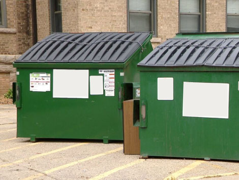 Commercial Dumpster Cleaning Cost in Woodlands TX